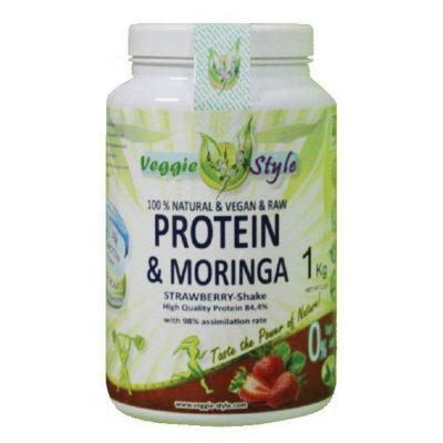 proteina y moringa 1kg fresa