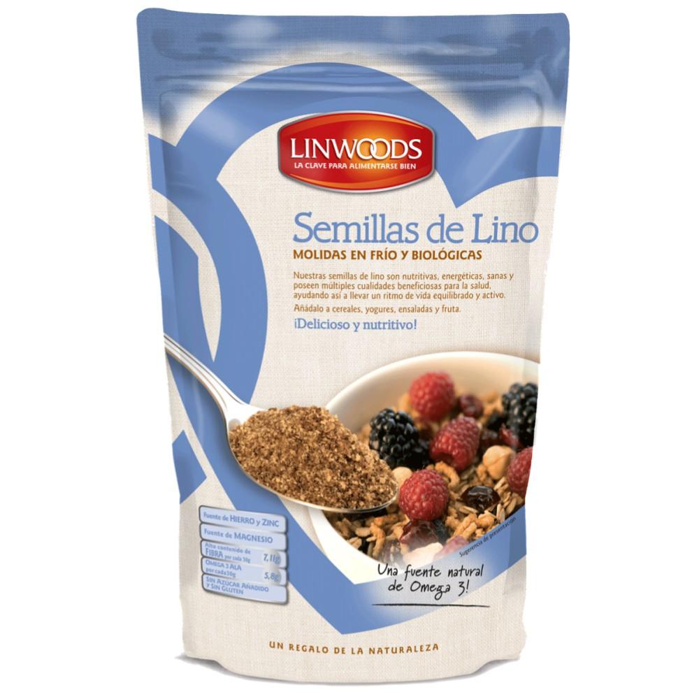 semillas de lino molidas en frio y biologicas
